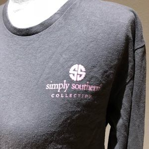 Simply Southern Long Sleeve grey T-shirt